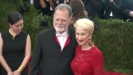 Taylor Hackford and Helen Mirren at 'China Through The Looking Glass' Costume Institute Benefit Gala Arrivals at Metropolitan Museum of Art on May 04...