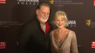 Taylor Hackford Helen Mirren at the BAFTA Los Angeles 2011 Britannia Awards at Beverly Hills CA