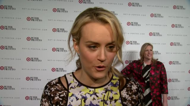 INTERVIEW Taylor Schilling on being excited to be at her first Target party on why it's so great Target collaborates with these highend designer on...