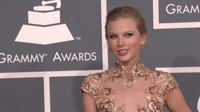 Taylor Swift at 54th Annual GRAMMY Awards Arrivals on 2/12/12 in Los Angeles CA