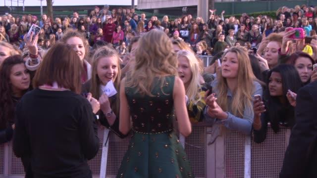 Taylor Swift at Radio 1 Teen Awards at Wembley Are at Wembley Arena on November 03 2013 in London England