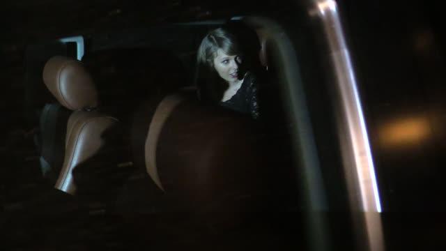 Taylor Swift Calvin Harris departing the Troubadour in West Hollywood in Celebrity Sightings in Los Angeles