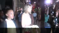 Taylor Swift Serayah McNeill at Katsuya in Hollywood in Celebrity Sightings in Los Angeles