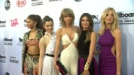 Taylor Swift Zendaya Coleman Hailee Steinfeld Lily Aldridge and Martha Hunt at MGM Grand on May 17 2015 in Las Vegas Nevada