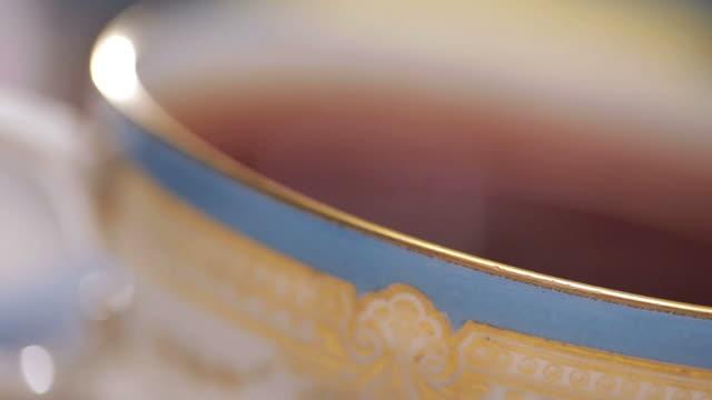 Tea cup Macro