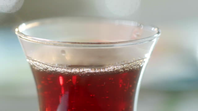 Tea Pouring Close up
