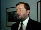 Teacher performance related pay David Blunkett MP interview SOT I believe that instead of people being on different wages because of historic...