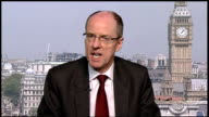 Teachers threaten strike action in the autumn ENGLAND London GIR / Westminster INT Nick Gibb MP 2WAY interview from Westminster SOT changes could be...