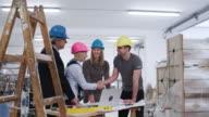 Team macht Pläne über die Zukunft