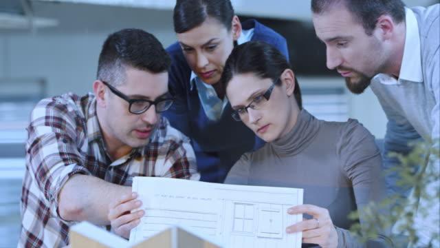 PAN Team von Architekten, die die Pläne für das Gebäude