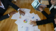 Team of Business brainstorming the business project