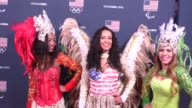 Team USA Olympics Media Reception at Beverly Hilton Hotel in Beverly Hills in Celebrity Sightings in Los Angeles