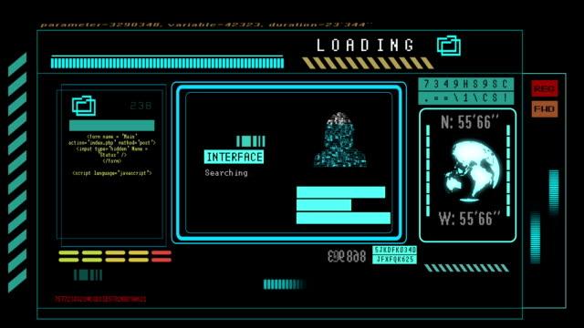 Technische Bildschirm