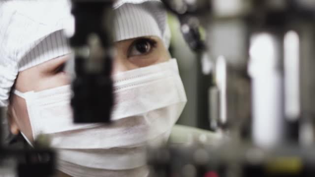 CU Technician monitoring Semiconductor manufacturing / Bang Pa-In, Ayutthaya, Thailand