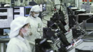 MS Technicians manufacturing semiconductors at workplace / Bang Pa-In, Ayutthaya, Thailand