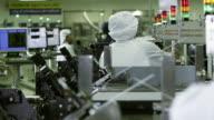 MS PAN R/F Technicians manufacturing semiconductors at workplace / Bang Pa-In, Ayutthaya, Thailand