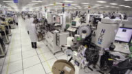 WS Technicians working on manufacturing Semiconductors / Bang Pa-In, Ayutthaya, Thailand