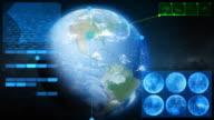 Techno world. Loop