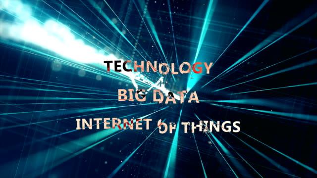 Technologie, Internet van dingen, grote gegevens