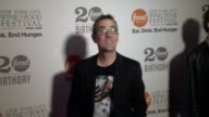 Ted Allen at Food Network's 20th Birthday at Pier 92 on in New York City