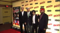 MS Ted Danson Jonathan Ames Jason Schwartzman and Zach Galifianakis posing for paparazzi on the red carpet ZI