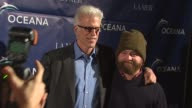 Ted Danson Zach Galifianakis at the Oceana Annual Partners Award Gala 2009 at Los Angeles CA