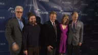 Ted Danson Zach Galifianakis Keith Addis January Jones at the Oceana Annual Partners Award Gala 2009 at Los Angeles CA