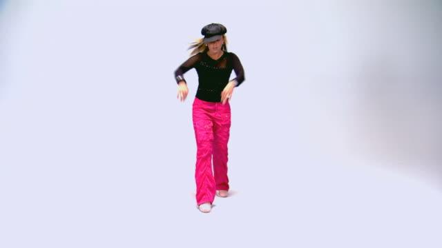 Teen dancing
