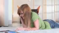 HD DOLLY: Teenage Girl Talking On The Phone