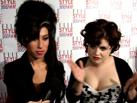 Teenage model dies from anorexia INT Amy Winehouse and Kelly Osbourne interviewed at Elle Style Awards I personally don't find it attrractive WIPE TO