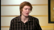 Teenager becomes youngest Briton to climb Mount Everest ENGLAND London INT George Atkinson LIVE STUDIO interview SOT