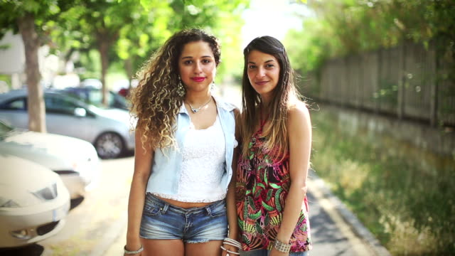 Teenager girls portrait