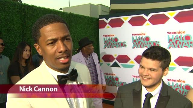 CHYRON TeenNick HALO Awards in Los Angeles CA on 11/22/13