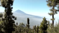 Teide Volcano on a clear day