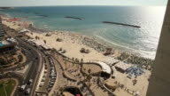 Tel Aviv Beaches and Skyline