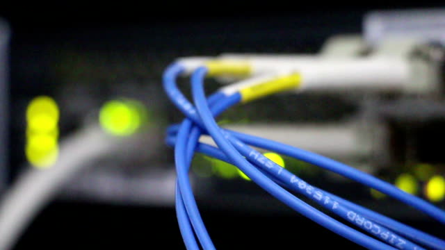 telecommunication data exchange device flickering
