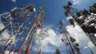 Telecommunication Tower Timelapse HD1080