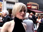 Red carpet arrivals and interviews AnneMarie Duff interview SOT Real honour to be nominated / Hasn't got a clue who will win