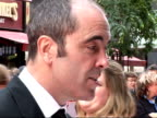 Red carpet arrivals and interviews James Nesbitt speaking to press / James Nesbitt interview on red carpet SOT BAFTAs are a good night / expensive to...