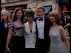 Bafta awards ITN ENGLAND London Members of the cast of Coronation Street including Amanda Barrie Helen Worth Gaynor Faye and Adam Rickitt posing for...