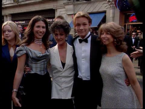 Bafta awards ITN ENGLAND London Members of the cast of Coronation Street including Amanda Barrie Helen Worth Gaynor Faye and Adam Rickitt posing for...