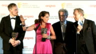 BAFTA Television Awards Interviews with winners Actress Sidse Babett Knudsen and others involved in Danish political drama 'Borgen' which won the...