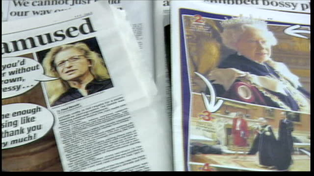 BBC1 controller resigns over 'Queen trailer' affair LIB Newspaper articles about Queen's photoshoot with Annie Leibovitz