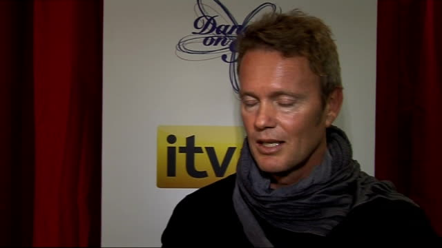 'Dancing On Ice' preview Celebrity contestant interviews Craig McLachlan interview SOT He loves London but feels a bit jet lagged / the pressure is...