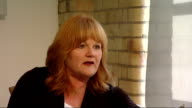 Emmy Awards 2011 Lesley Nicol interview on 'Downton Abbey' ENGLAND London INT Lesley Nicol interview SOT [Whats your reaction to your Emmy win] It's...