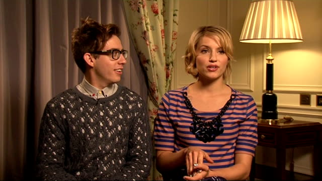 'Glee' cast interviews Kevin McHale and Dianna Agron interview SOT On dream storylines for the new season / whether their characters will graduate /...