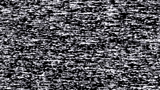 Television Static Noise / Blank Tape