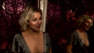 The Movie Show launch party red carpet interviews Abi Titmuss interview SOT on fave film love French films Black Swan Beautiful on what Colin Firth...