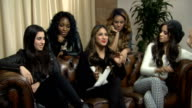 'X' Factor Fifth Harmony interview ENGLAND London INT Fifth Harmony interview SOT