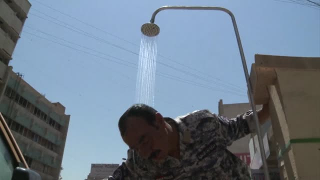 Temperatures across Iraq have topped 50 degrees Celsius in recent days Baghdad Iraq
